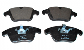 LR004936 LP1967 Delphi Premium Front Brake Pad Set Freelander 2